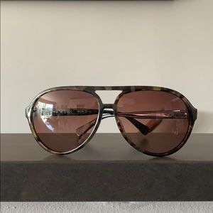 Aviator sunglasses by Coach.